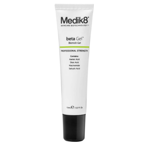 Medik 8 Beta Gel (gel corrector en acné)