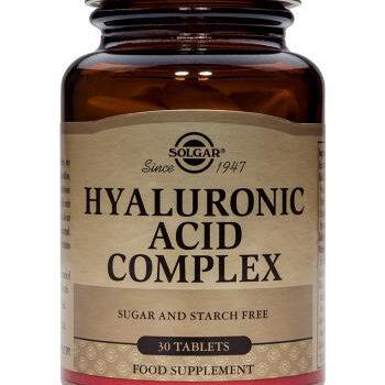Ácido Hialurónico Complex. Suplementos Solgar