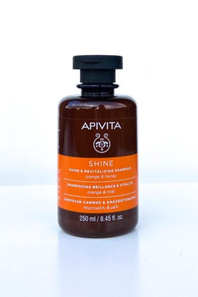 Apivita Shine and Revitalizing Shampoo Champú revitalizante y brillo