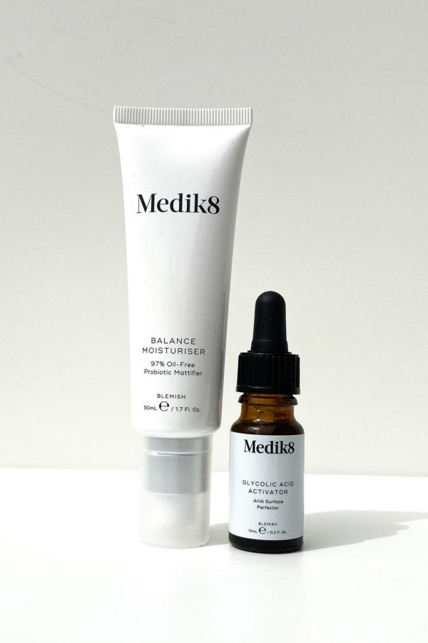 ROSTRO,Cuidado de Piel MEDIK8 Balance Moisturiser with Glycolic Acid Activator